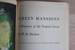 Green Mansions A Romance of the Tropical Forest by W.H. Hudson