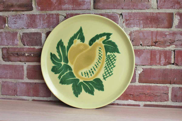 Brock (California) South Pacific Large Serving Platter with Mango Decoration