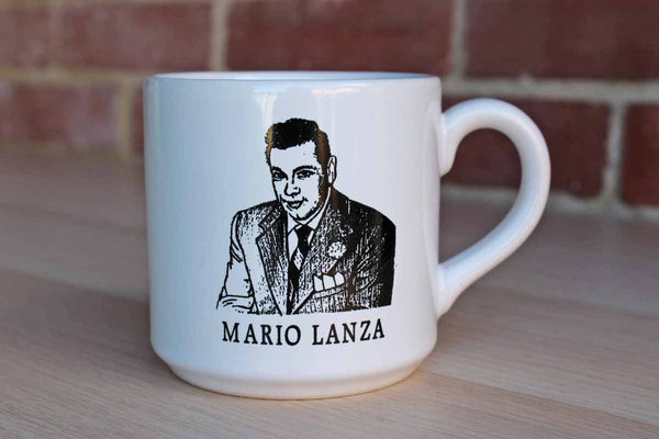 Mario Lanza Institute & Museum Handled Ceramic Mug
