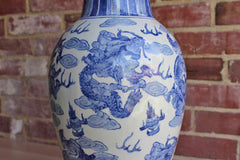 Chinese Blue and White 18 1/4