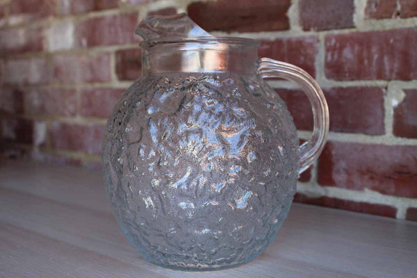 Anchor Hocking (Ohio, USA) Milano Clear Glass Ball Pitcher