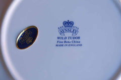 Aynsley (England) Bone China Wild Tudor Dish