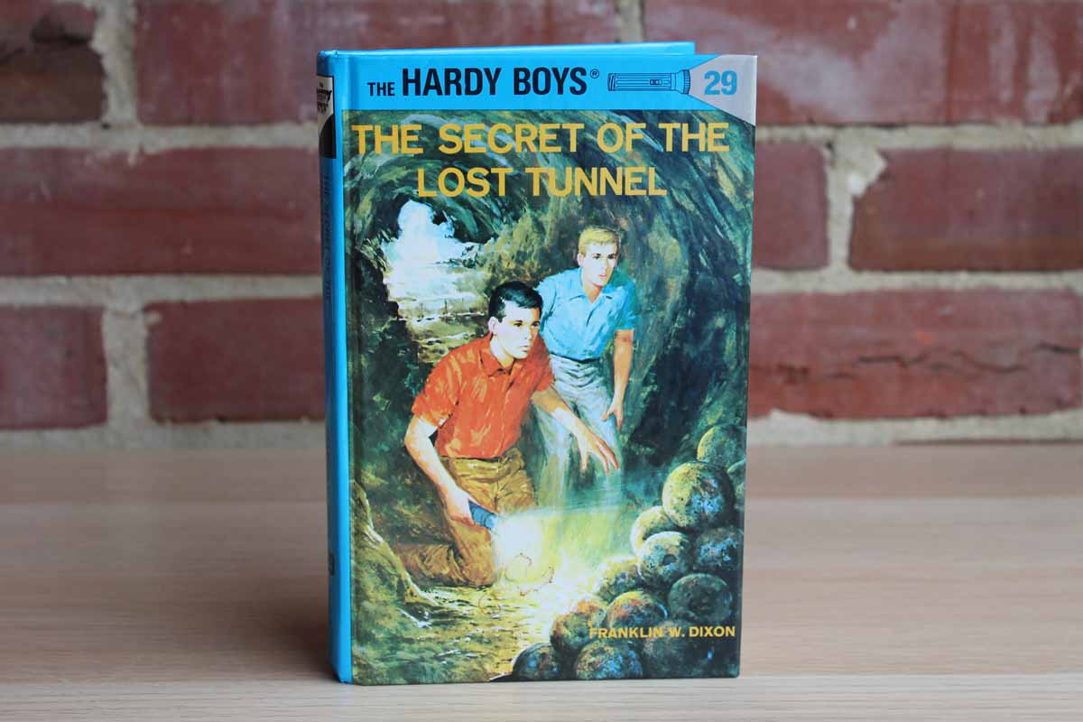 The Hardy Boys #29:  The Secret of the Lost Tunnel by Franklin W. Dixon