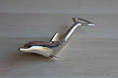 International Silver Company Silver Plated Dolphin Bottle Cap and Twist Cap Opener