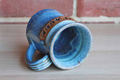 Chincoteague Blue Glazed Drink Mug