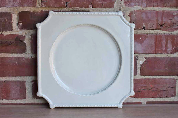 Ceramic Cake Plate, Made in Italy
