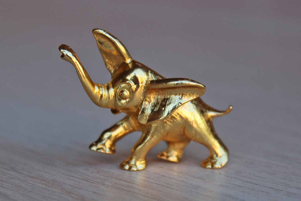 ART Arthur Pepper Jewelry (USA) Gold TOne Elephant Brooch