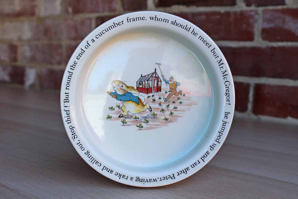Wedgwood (England) Peter Rabbit Porringer Bowl