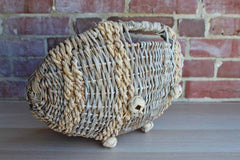 Weathered Rustic Basket