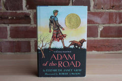 Adam of the Road by Elizabeth Janet Gray and Illustrated by Robert Lawson