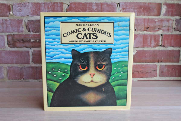 Comic & Curious Cats by Martin Leman, Words by Angela Carter