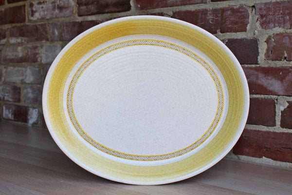 Franciscan Eartnenware (California, USA) Hacienda Gold Oval Serving Platter
