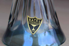 Bayel Cristallin (France) Baby Blue and Clear Crystal Bell