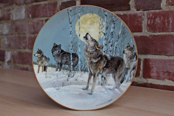 Princeton Gallery Song to the Wilderness Decorative Plate by Jon Van Zyle