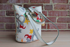 Dooney & Bourke (Connecticut, USA) Paint Splatter Graffiti Bucket Bag