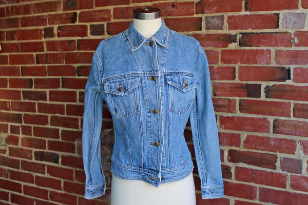 Katharine Hamnet Denim Jacket, Size Medium