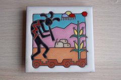 Masterworks Handcrafted Art Tile