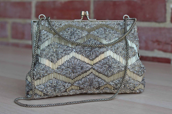 Art Deco-Style Beaded Evening Bag