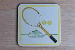 Pimpernel (England) Tennis Racquet Coasters