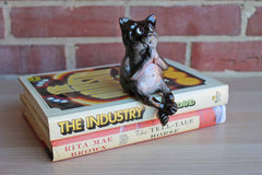 Ceramic Sitting Cat Figurine