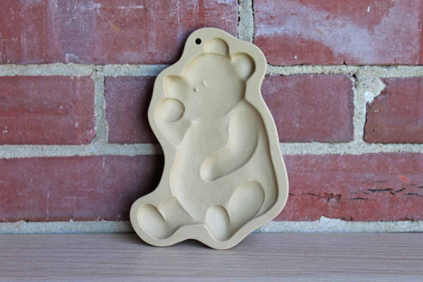 Brown Bag Cookie Art (New Hampshire, USA) Stoneware Cookie Mold of Disney's Winnie the Pooh