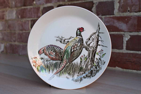 "Johnson Brothers (England) Ceramic Game Birds ""Pheasant"" Plate"