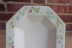 Independence Ironstone Castleton (Japan) Old Orchard Fruits and Flowers Serving Bowl