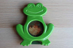 Ceramic Green Frog Picture Frame