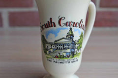 South Carolina Palmetto State Ceramic Souvenir Mug