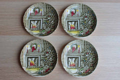 Johnson Brothers (England) Merry Christmas Coasters, Set of 4