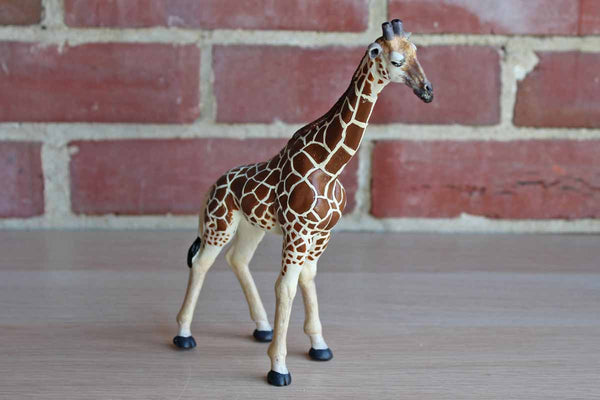 Papo (China) 2008 Cast Resin Giraffe Figurine
