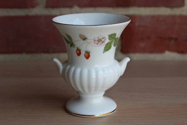 Wedgwood (England) Wild Strawberry Urn Bud Vase