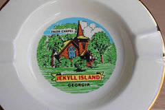 Jekyll Island Georgia Faith Chapel Ceramic Souvenir Dish