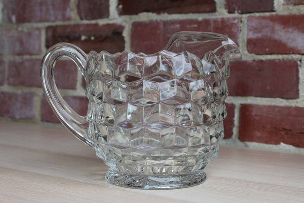 Fostoria Glass Company (West Virginia, USA) American Clear Handled Pitcher