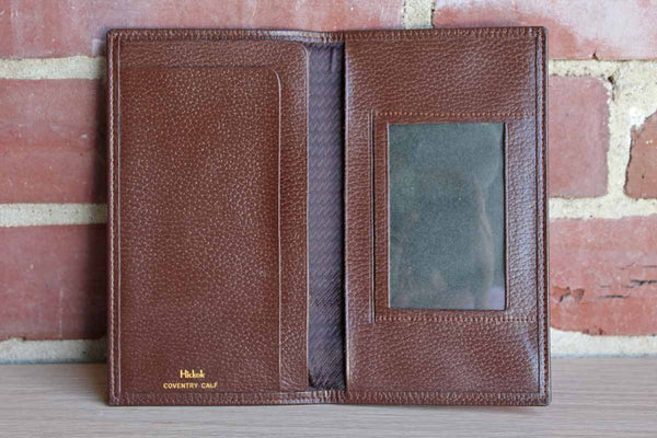 Hickok Leather Coat Wallet