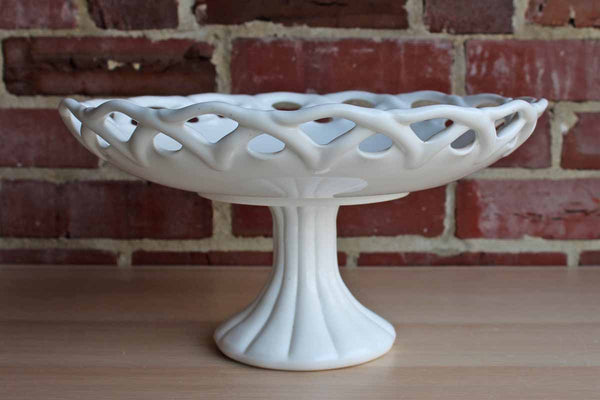 Colony Glass (Connecticut, USA) Large Milk Glass Compote Stand