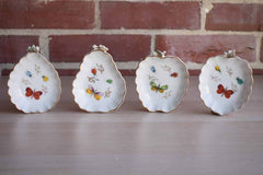 Otagiri Mercantile Company (Japan) Hand-Painted Porcelain Fruit-Shaped Candy and Nute Dishes