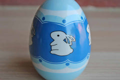 Ceramic Decorative Bunny Egg