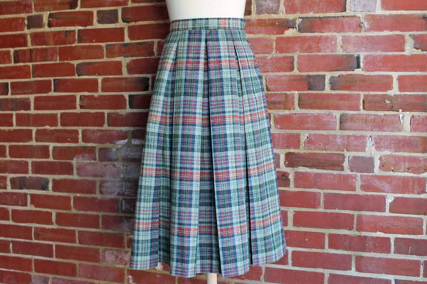 Suburban Separates by Country Miss Wool Pleated Skirt, Size 16