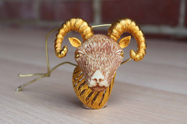 Razza Ornament of a Mouflon Sheep