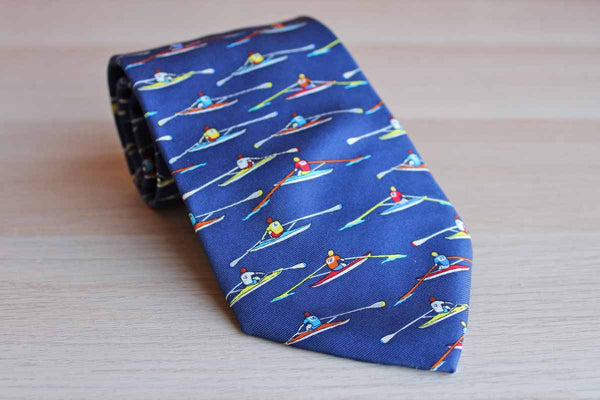 "Alynn Neckwear (Connecticut, USA) ""Single Shells"" by Eric Holch Silk Necktie"
