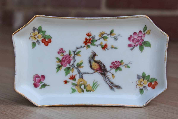 Limoges (France) Gold Pheasant Tray