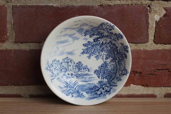 Wedgwood (England) Countryside Blue Fruit, Dessert, or Trinket Bowl