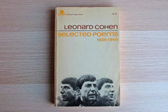 Leonard Cohen Selected Poems 1956-1968