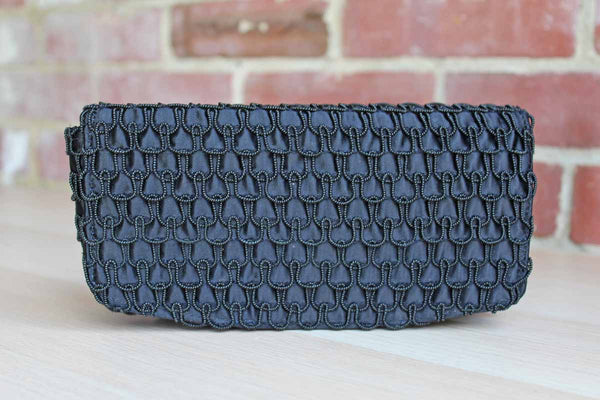 Garay (New York, USA) Black Evening Bag with Belt Loop