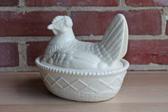 Porcelain Hen on a Nest