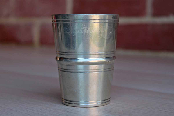 Heavy Silver Cocktail Measuring Cup