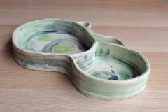 Organically Shaped Ceramic Dish