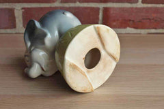 Cartoonish Circus Elephant Ceramic Coin Bank