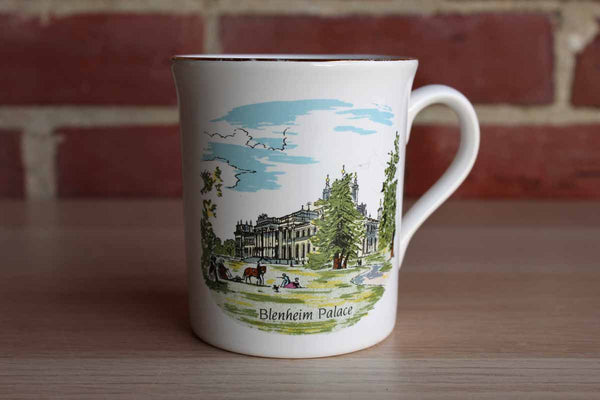 Ceramic Handled Mug Decorated with a Depitction of Blenheim Palace